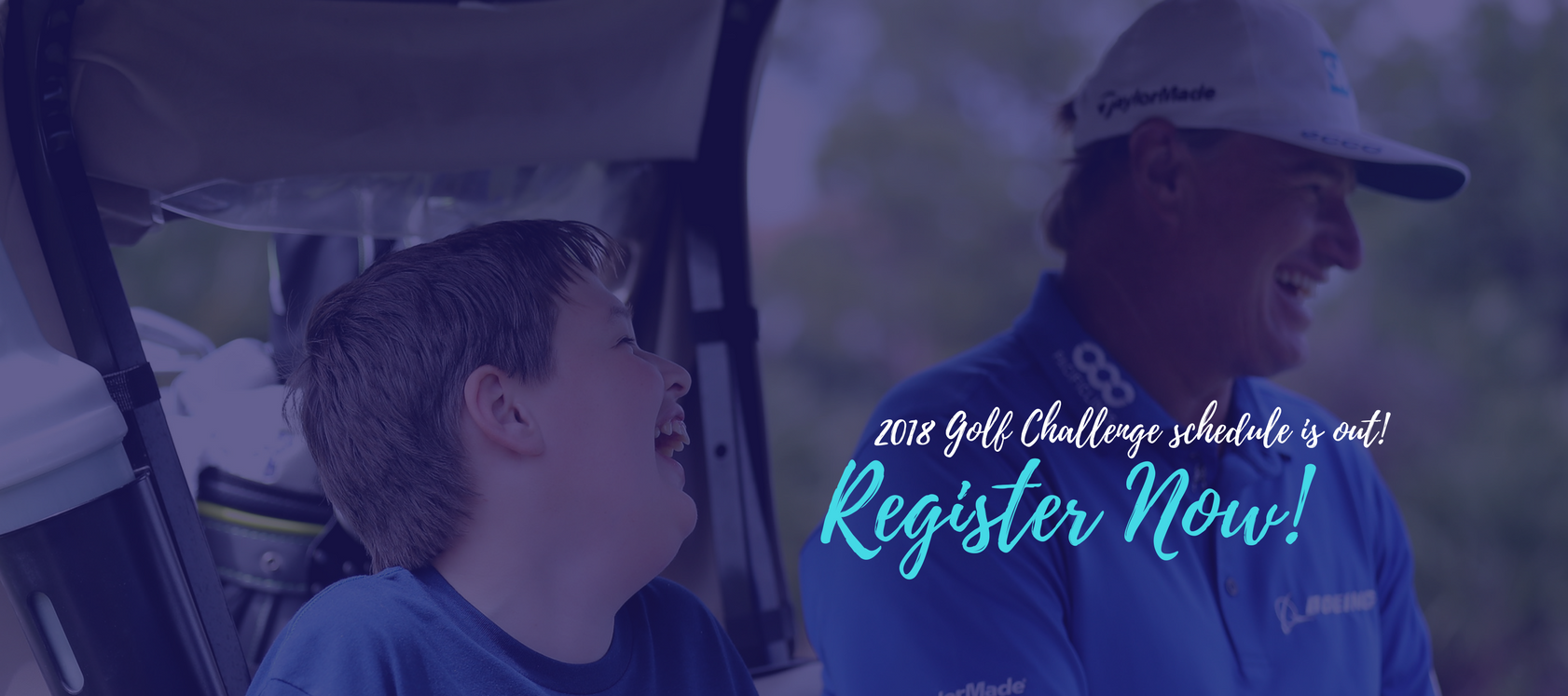 Sign Up Now!, 2018 Golf Challenge