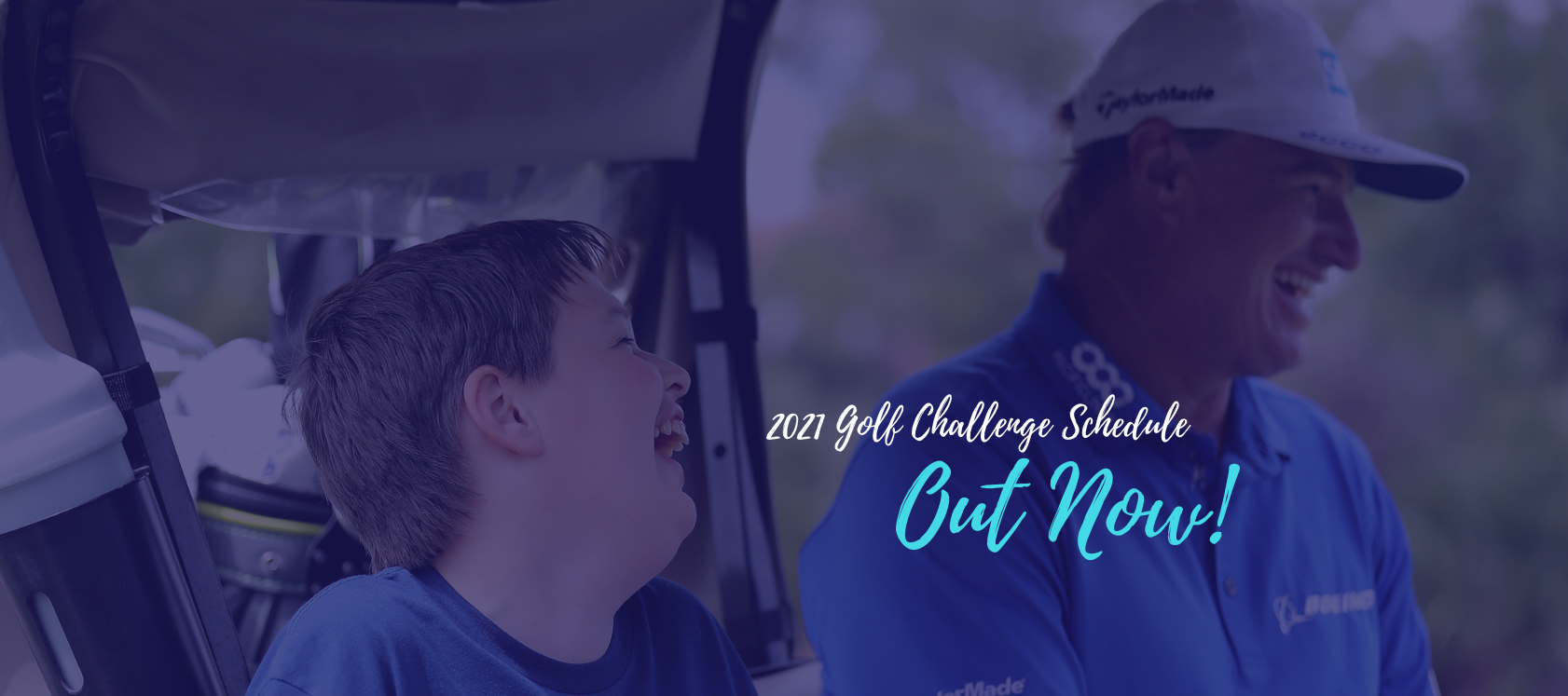 2021 Golf Challenge Now Open,